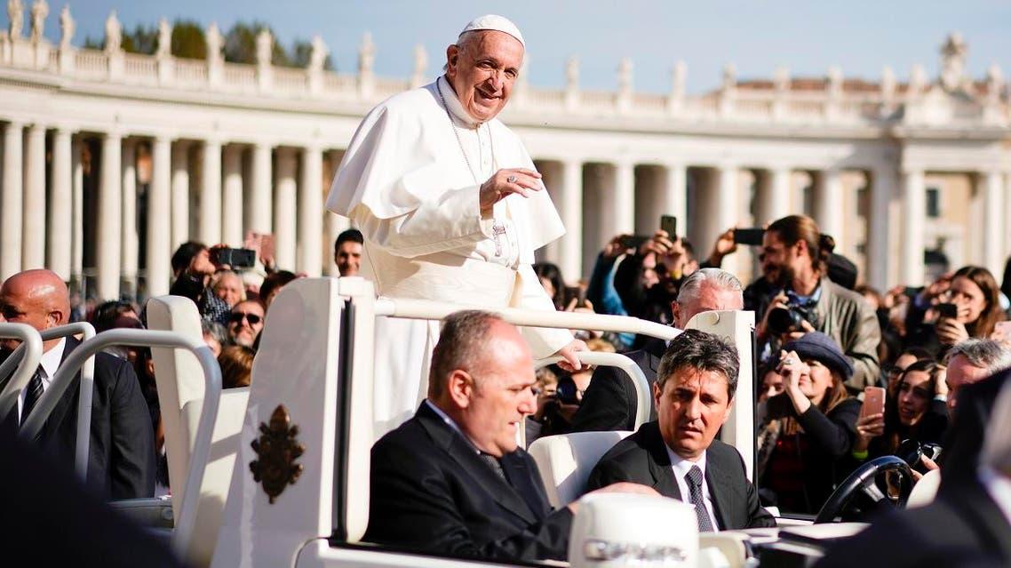 Vatican Pope (AP)