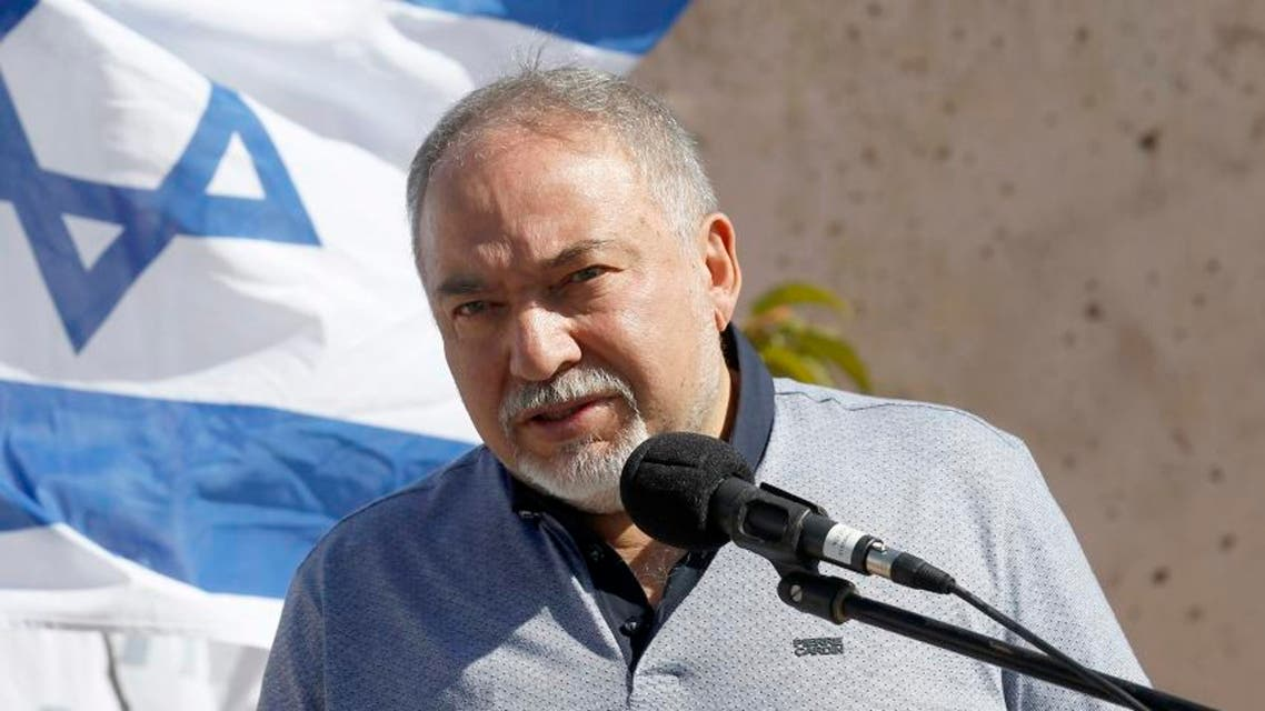 Lieberman israel (AFP)