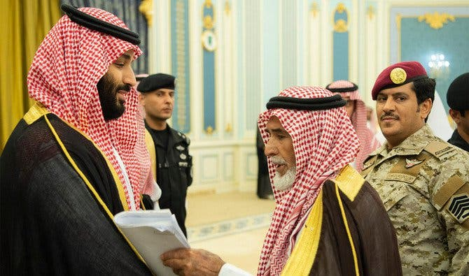 Saudi Crown Prince meets families of servicemen killed in line of duty