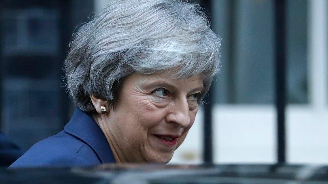 UK May (AP)