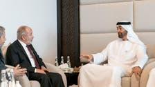Abu Dhabi Crown Prince receives leaders of Yemen's al-Islah party