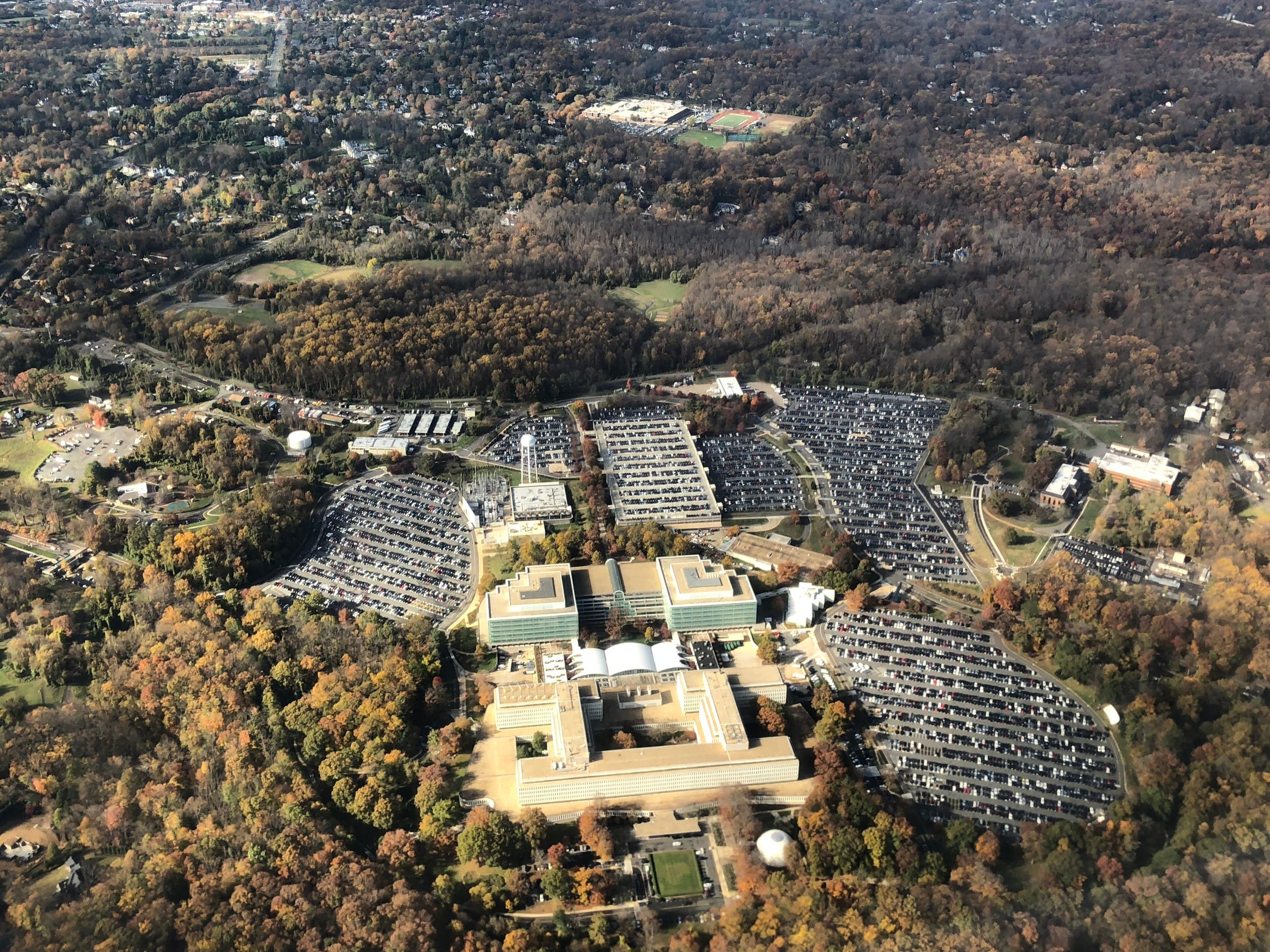 The headquarters of the Central Intelligence Agency (CIA) is seen in Langley, Virginia, United States. (File photo)