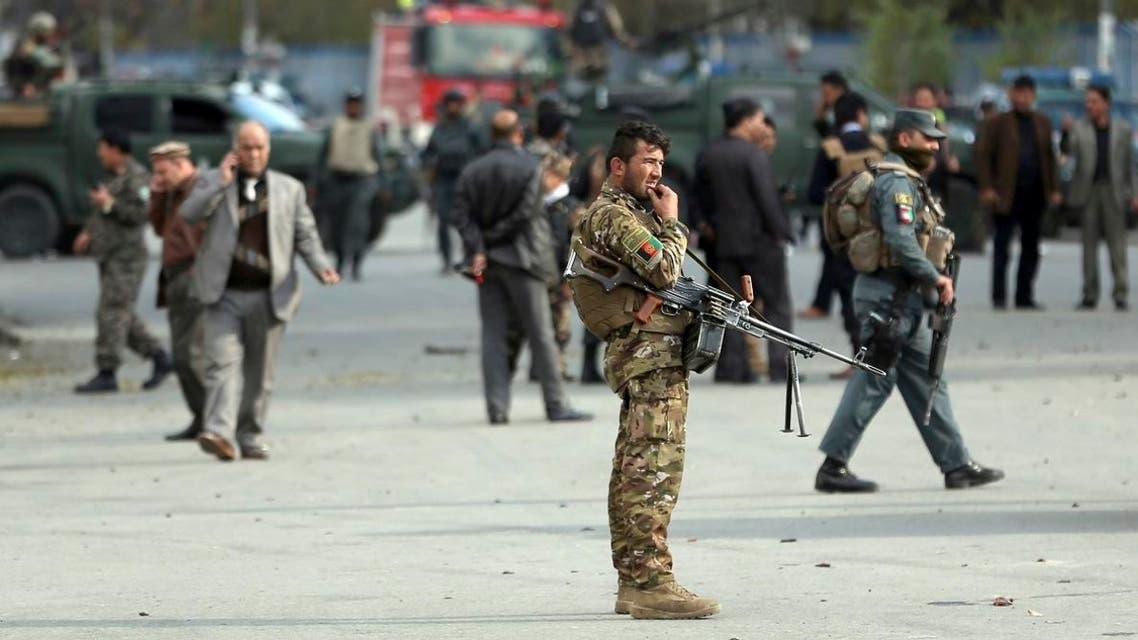 Afghan security (AP)