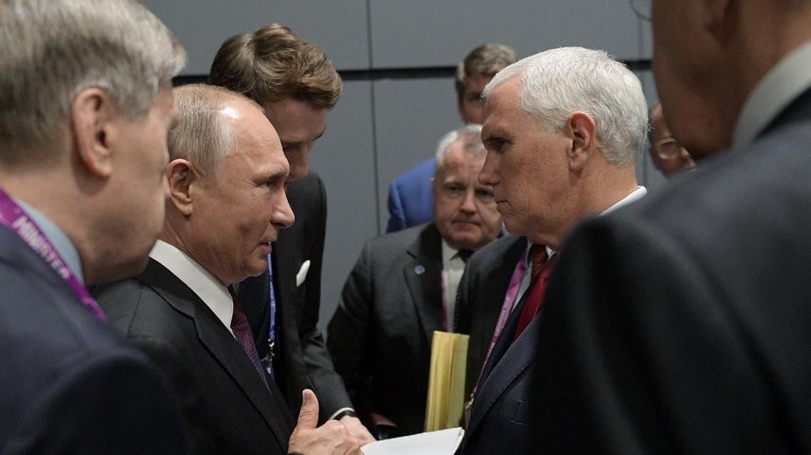 Putin and Pence (Reuters)