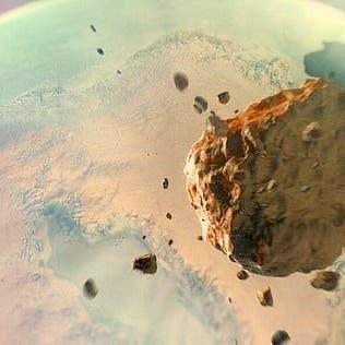 كويكب ضرب الأرض بقوة 47 مليون قنبلة نووية عيار هيروشيما