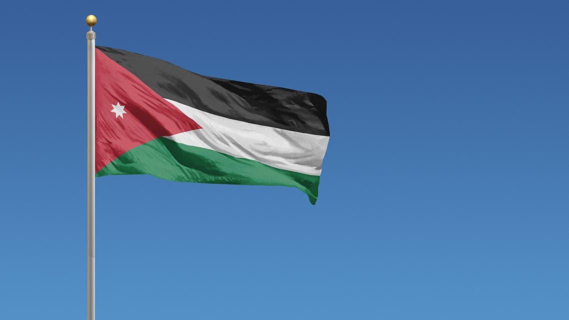 Flag of Jordan - Stock image