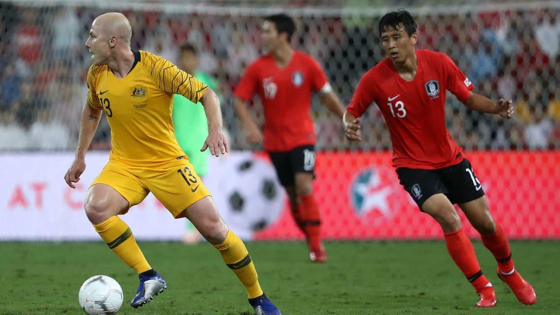 أستراليا - كوريا الجنوبية