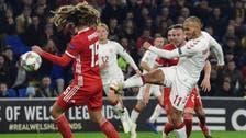 الدنمارك تتغلب على ويلز وتصعد إلى المستوى الأول
