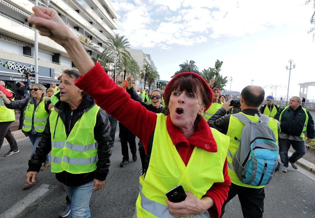 France fuel proices protest. (Reuters)