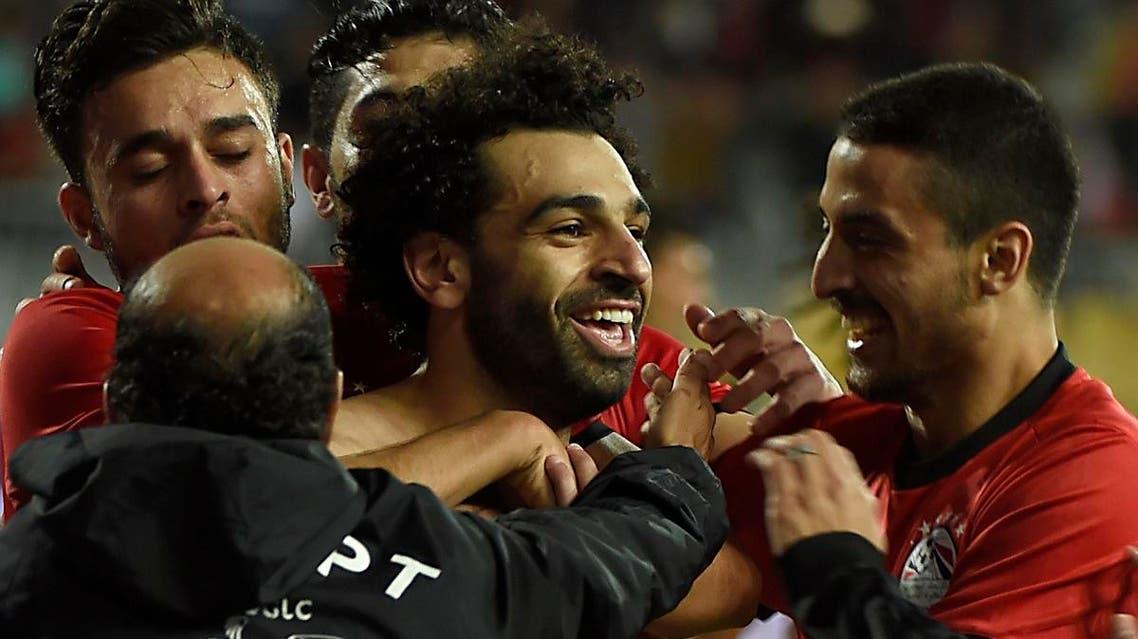 Mo Salah. (AFP)