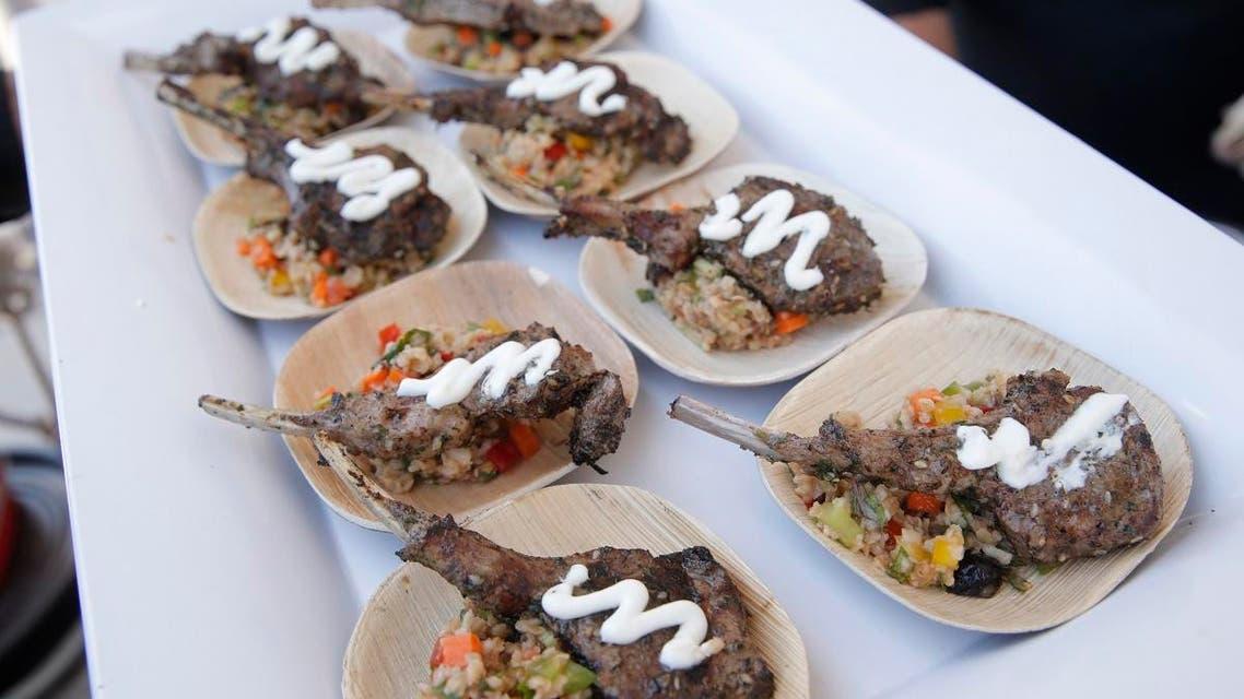 Lamb meat food. (AP)