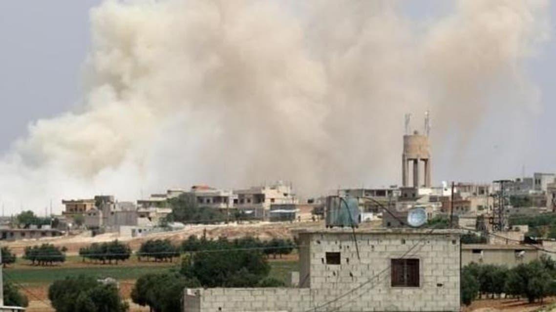 غارات سابقة على داعش في شرق سوريا