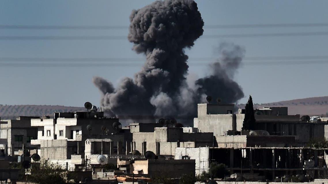 Syria coalition airstrikes (AFP)