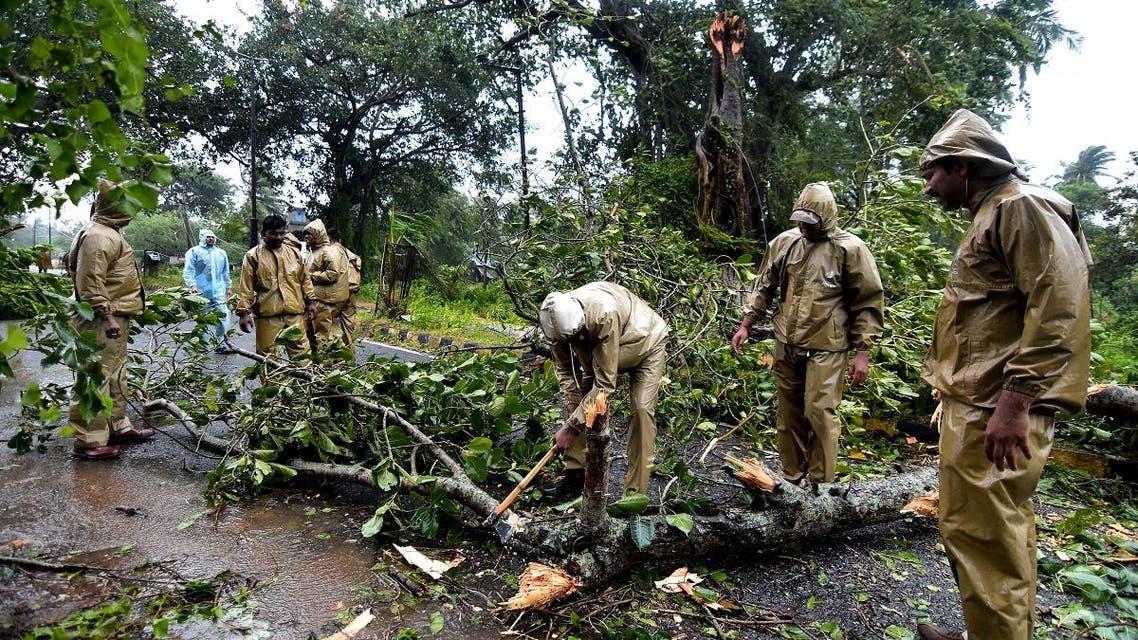 India cyclone. (AFP)