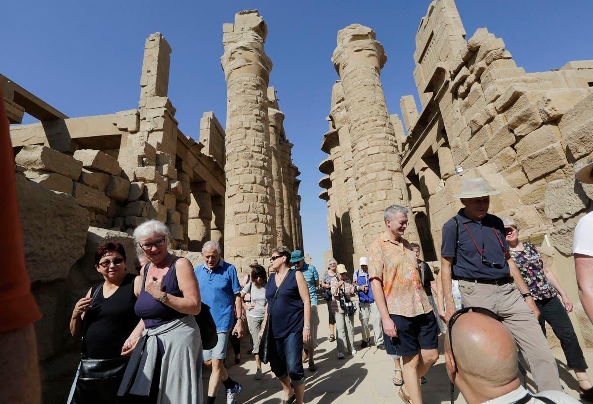 Luxor temple Egypt. (AP)