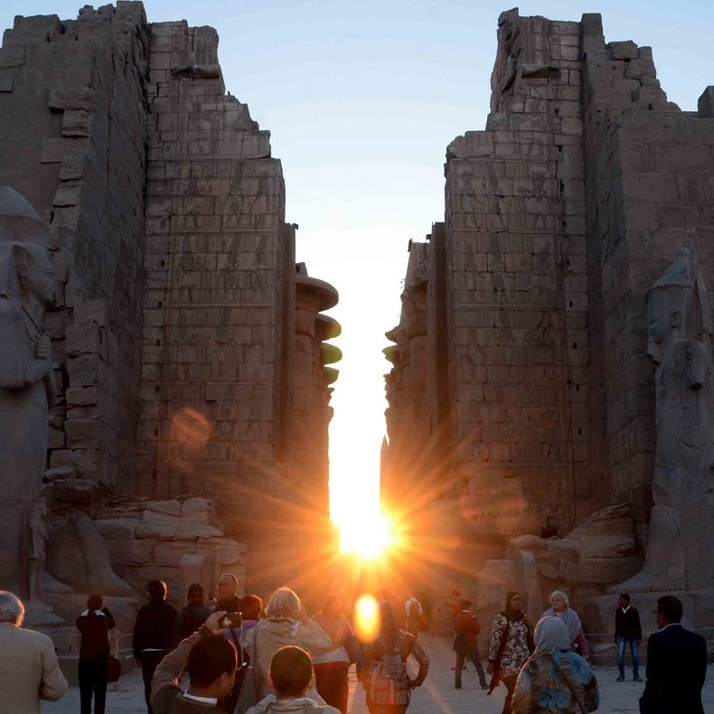 Ancient Egyptian temples: Historic monuments or wedding halls?