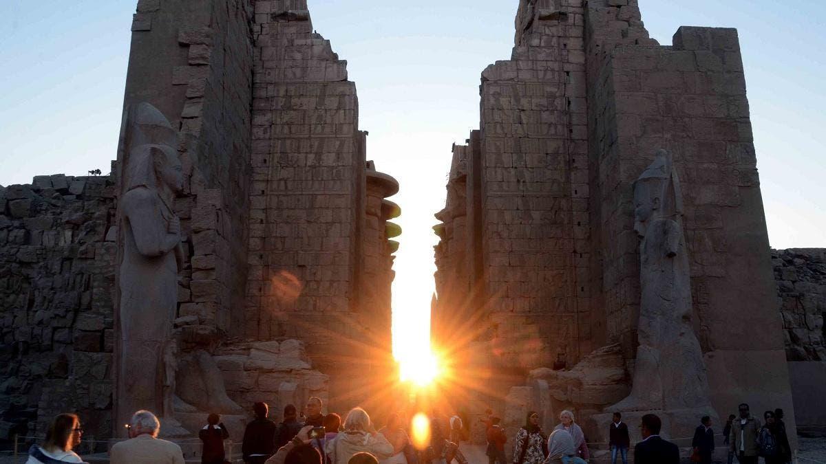 Ancient Egyptian Temples Historic Monuments Or Wedding Halls Al Arabiya English