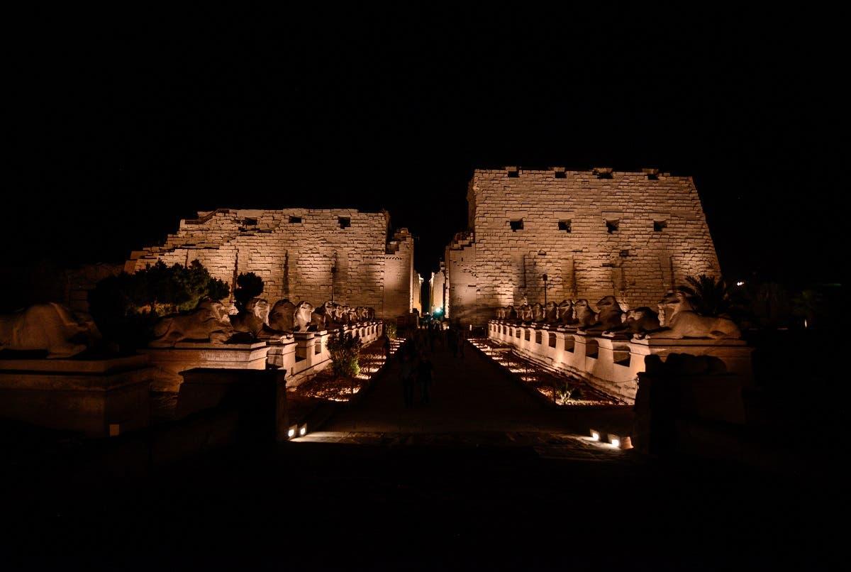Luxor temple Egypt. (AFP)