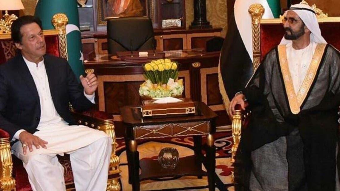 Imran Kahn meets with Dubai king