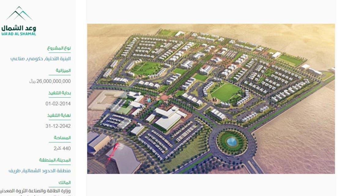 Saudi King Salman set to inaugurate Waad Al Shamaal City projects
