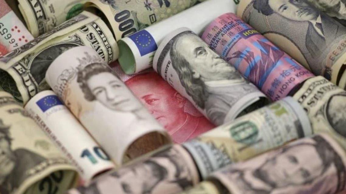 هبوط الدولار