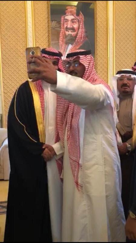 Saudi Crown Prince Mohammed bin Salman meets with Tabuk residents
