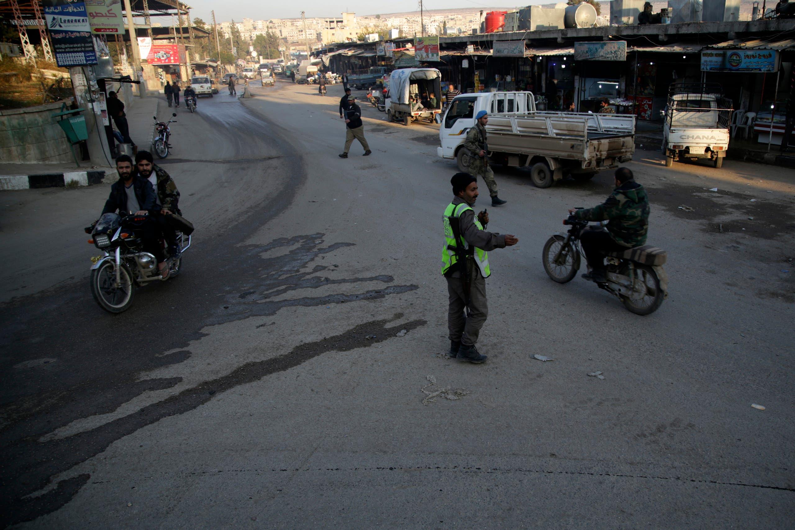 فصائل مسلحة مدعومة من أنقرة في عفرين (فرانس برس 19 نوفمبر 2018)