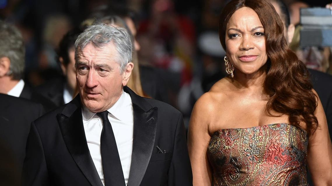 ROBERT DE NIRO AND WIFE (AFP)