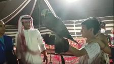 شاهد كيف تفاعل الأجانب مع الحياة البدوية بصحراء الظهران