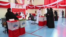 بحرین میں پارلیمانی اور بلدیاتی انتخابات کے لیے پولنگ