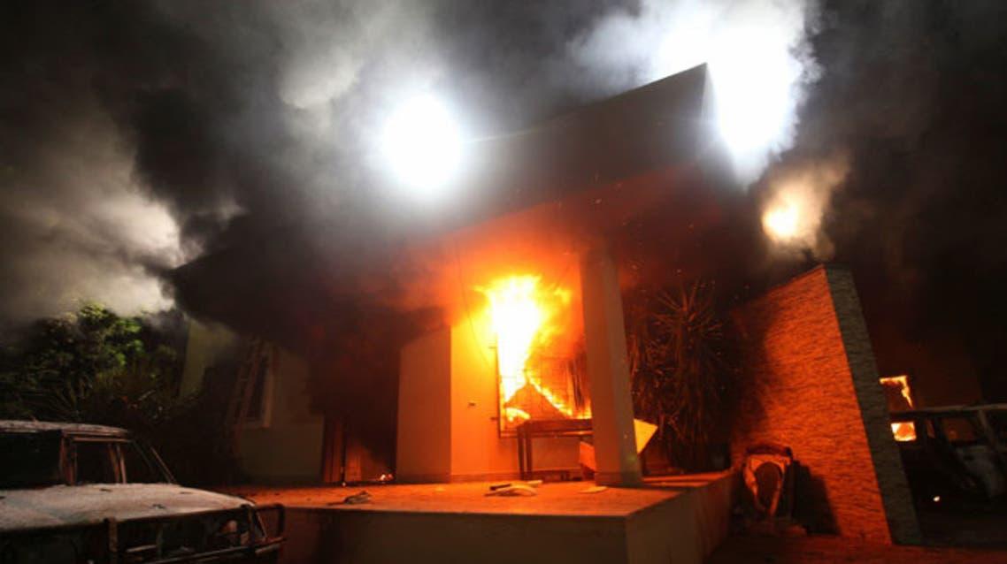 السفارة الامريكية بنغازي