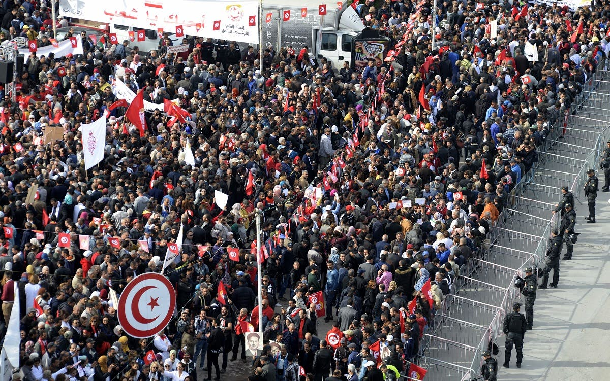 Tunisia strike 1 (AFP)
