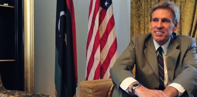السفير الأميركي القتيل