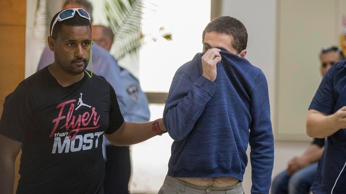 American-Israeli Jewish Michael Kadar (AFP)
