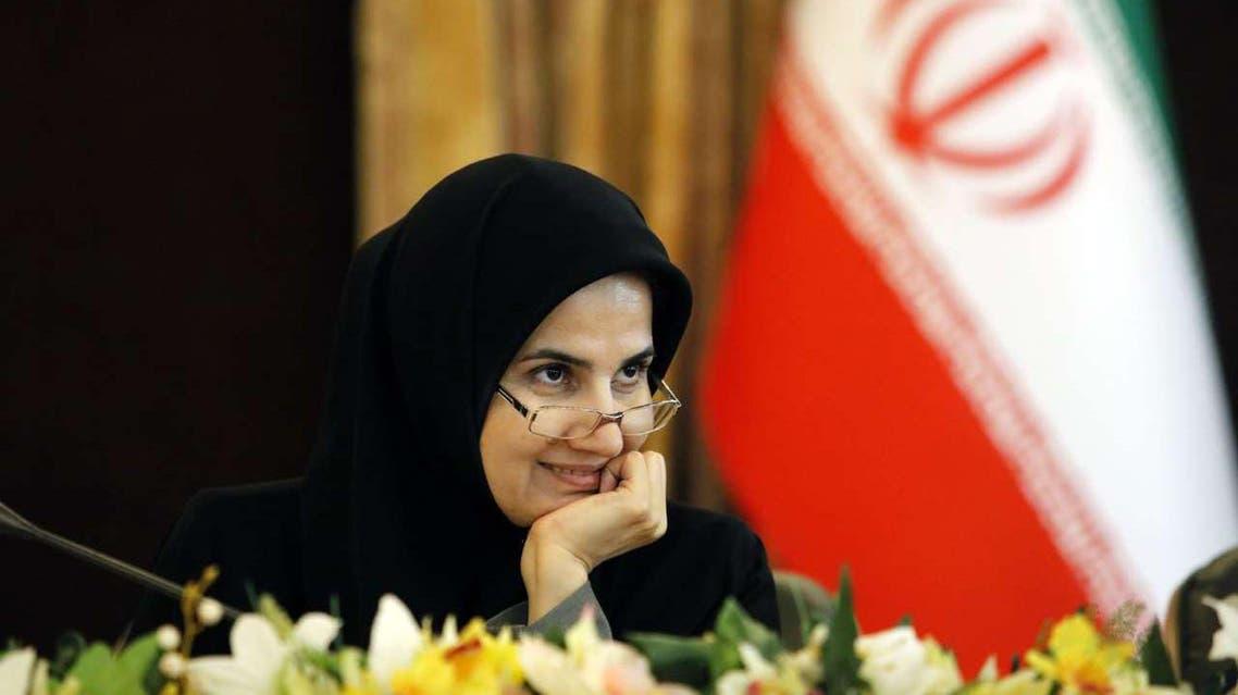 لعیا جنیدی معاون حقوقی حسن روحانی رئیسجمهوری ایران