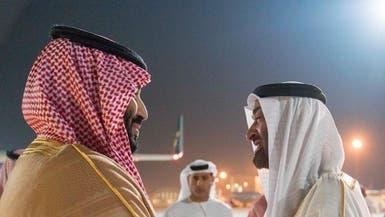 محمد بن سلمان يبحث مع محمد بن زايد العلاقات الثنائية
