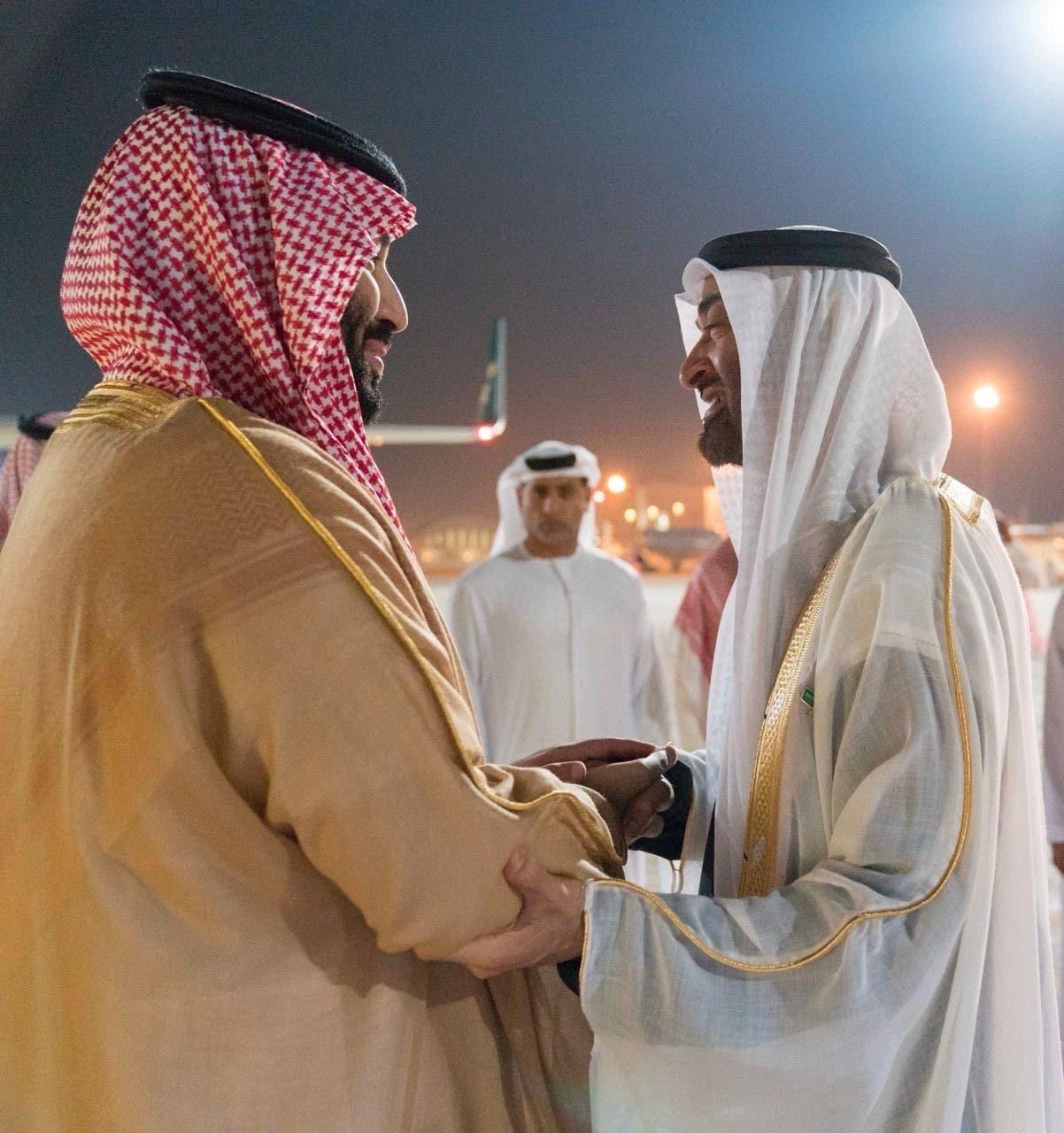 mohammed bin salman and mohammed bin zayed