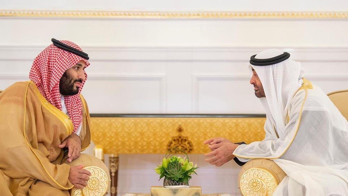 ولي العهد السعودي وولي عهد أبو ظبي