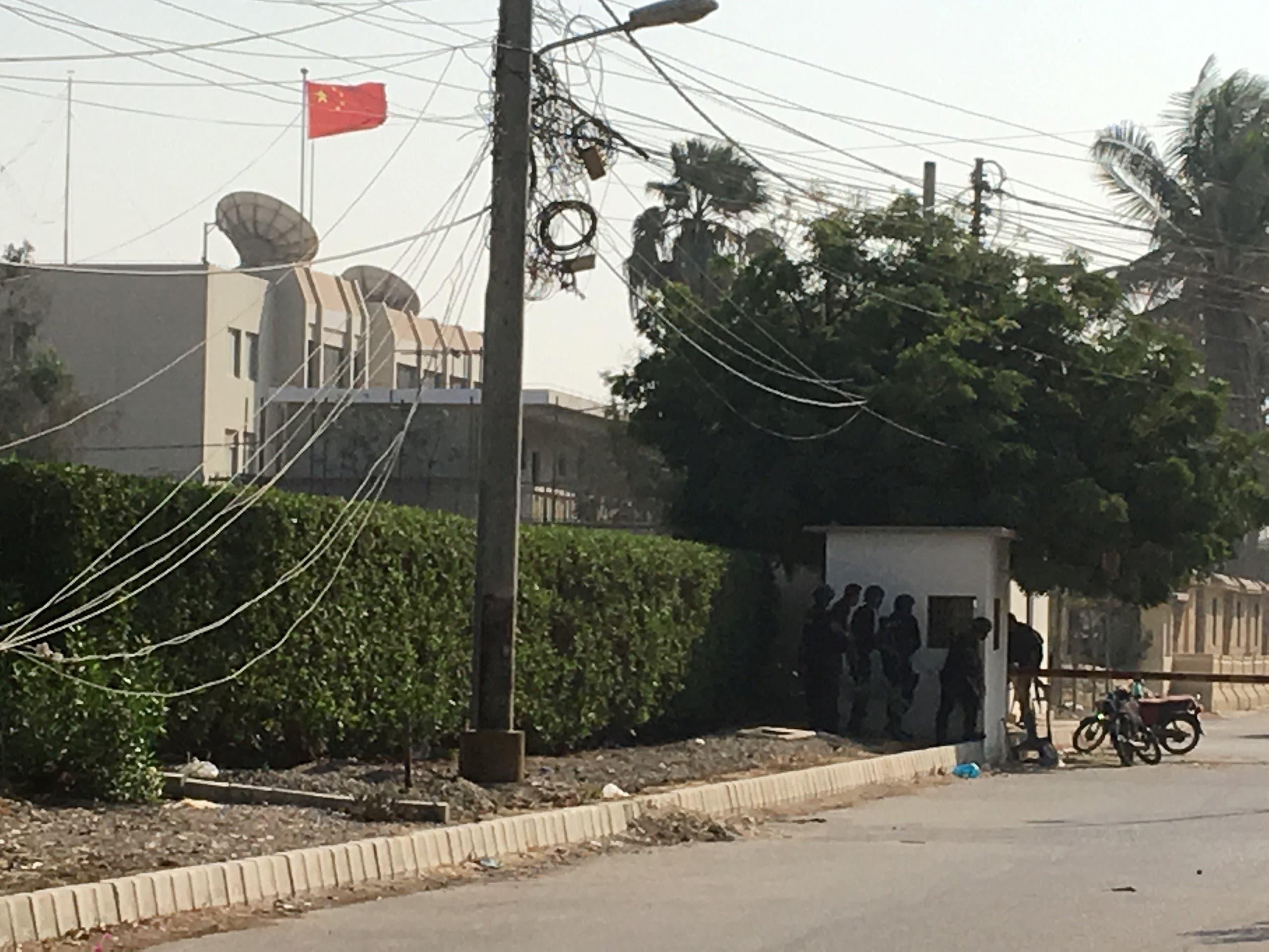 القنصلية الصينية في باكستان