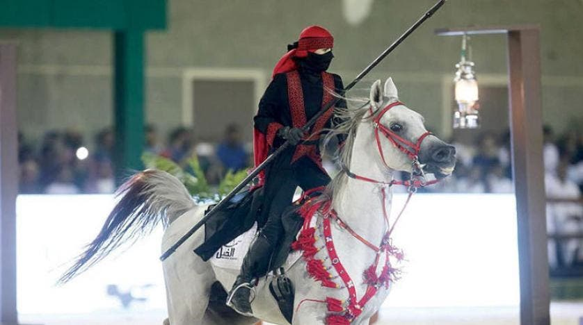 Saudi women horse rider 2 (Supplied)