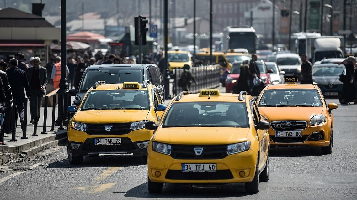 Istanbul Taxis (AFP)
