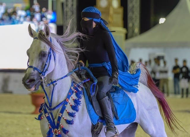 Saudi women horse rider 4 (Supplied)