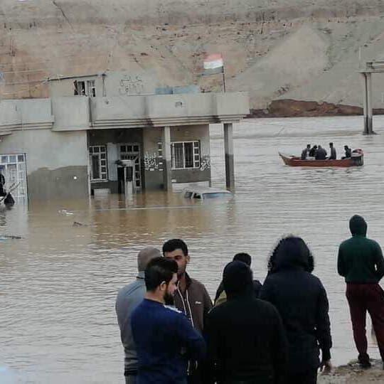 العراق.. وفاة 10 أشخاص جراء السيول والفيضانات