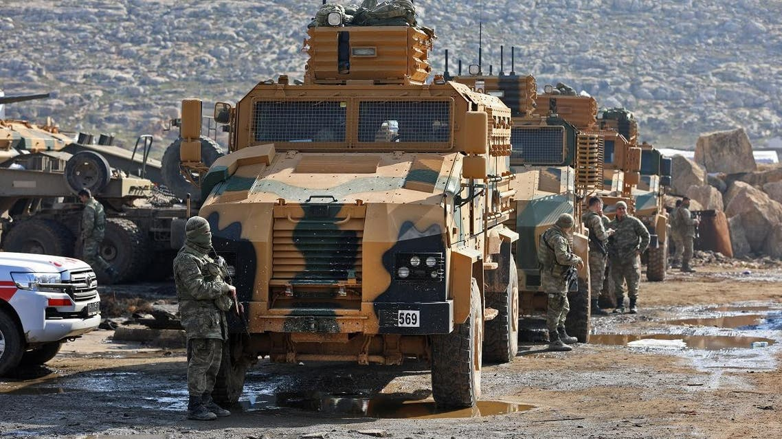 Turkey troops in Syria (AFP)