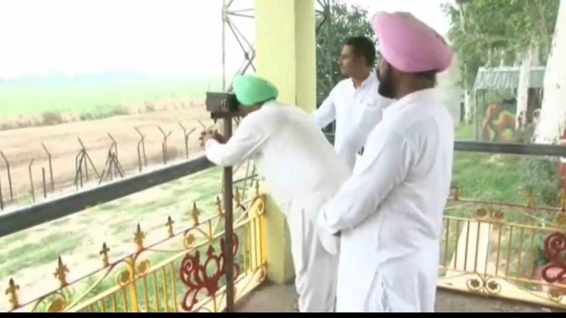 Sikh community looking at Kartarpur crossing. (Supplied)