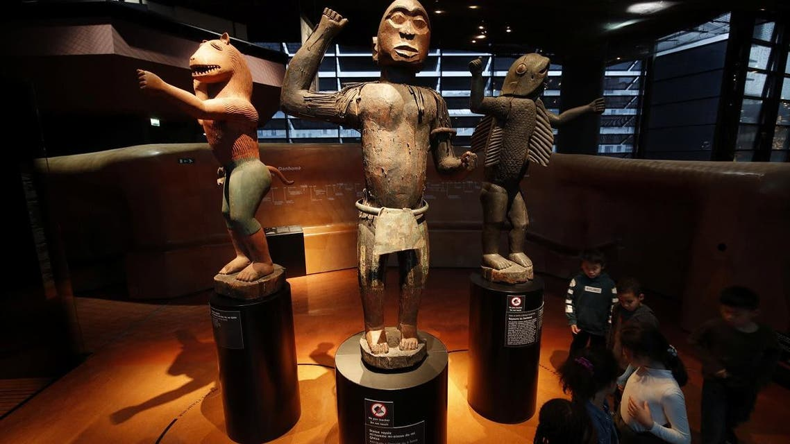 African art displayed in French museum. (Reuters)
