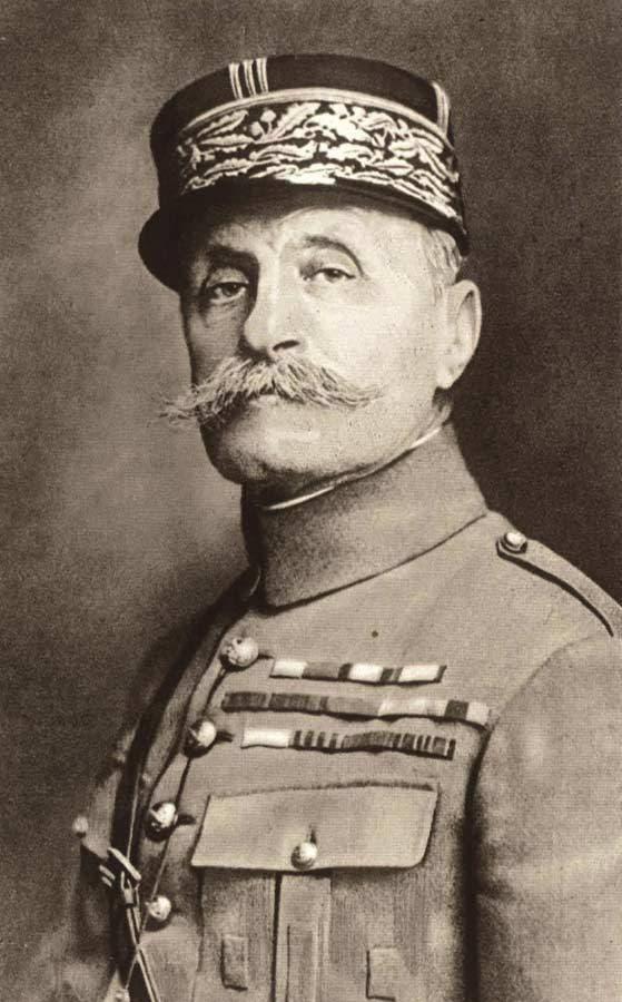 صورة للجنرال الفرنسي فرديناند فوش
