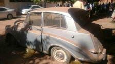 سوڈان میں ڈرائیونگ لائسنس حاصل کرنے والی پہلی خاتون کی گاڑی