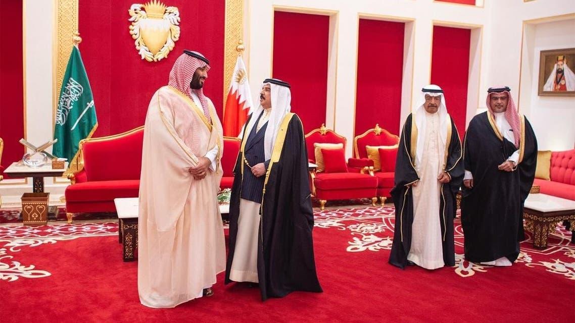 محمد بن سلمان في البحرين