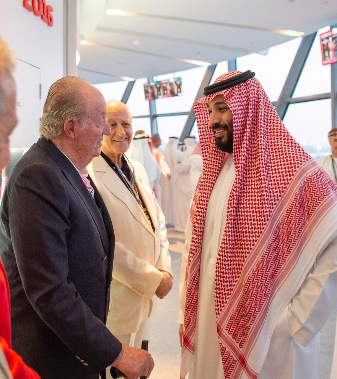 VIDEO: Saudi Crown Prince tours Abu Dhabi Grand Prix